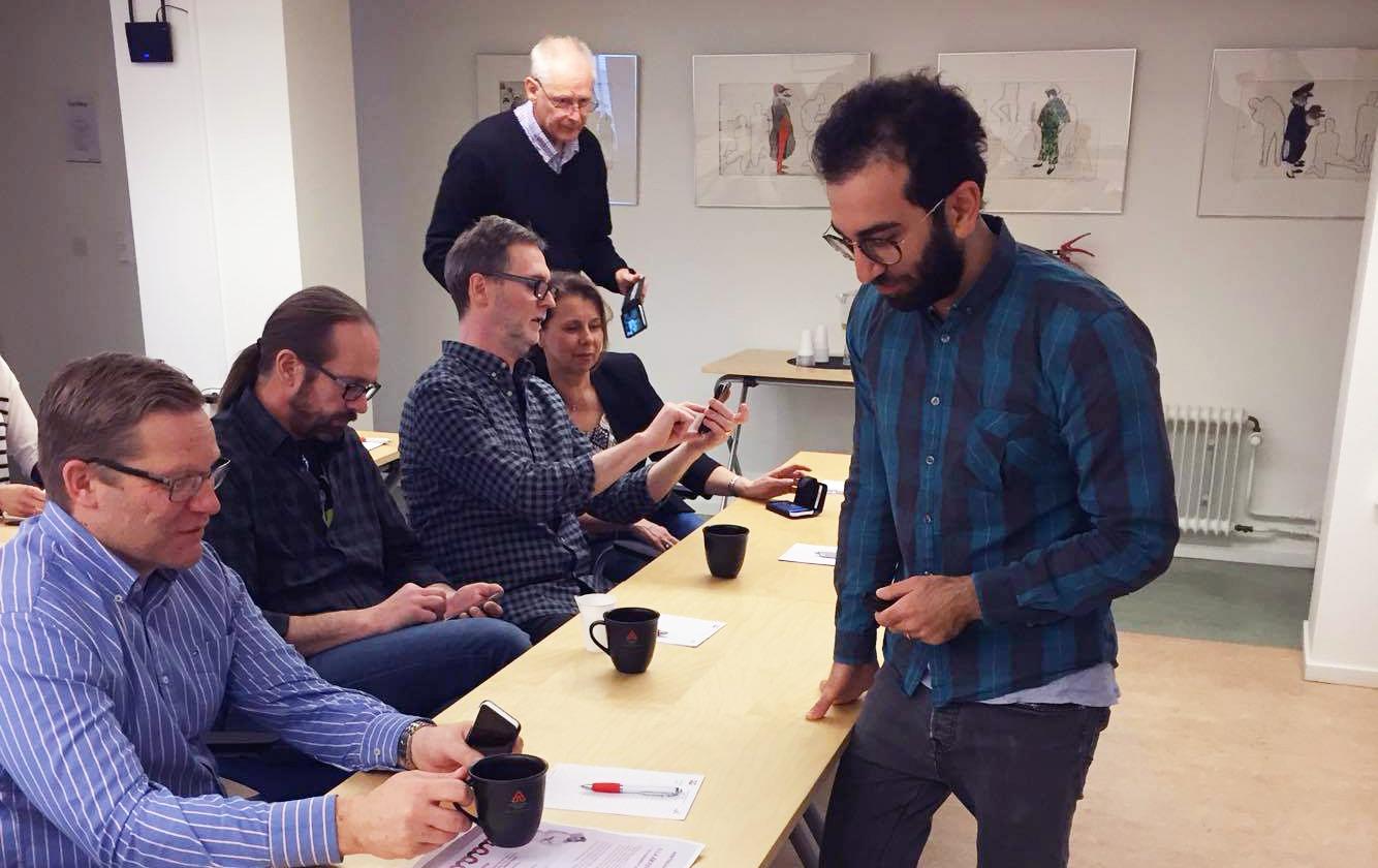 Alla är fotografer, föreläsning och workshop med Tuana